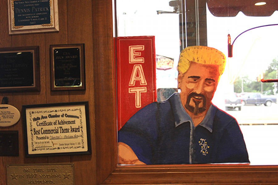 Guy Fieri sign